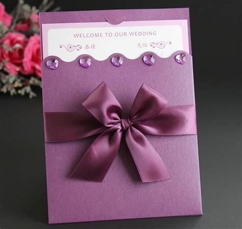 Wedding Card Ribbon by Wedding Card Designs Cut Ribbon Luxurious