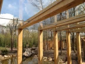 terrassenueberdachung selber bauen anleitung mit bauplan