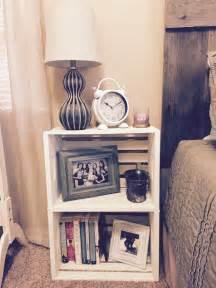 Ideas For Nightstands 22 Nightstand Ideas For Your Bedroom Crate Nightstand