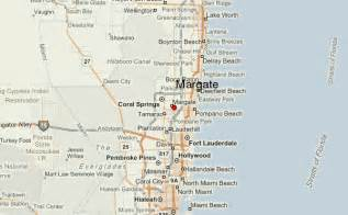 map margate florida margate florida location guide