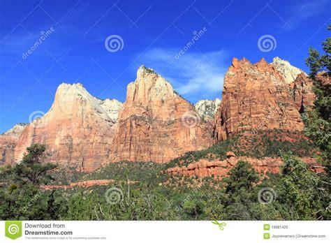 Garden Ridge Mt Zion Mount Zion National Park Stock Photo Image Of Destination