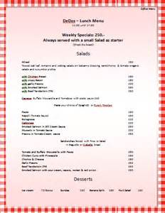 microsoft word restaurant menu template menu template word lisamaurodesign
