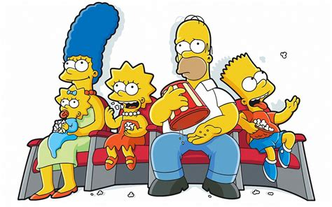 the simpsons the simpsons family 1440x900 wallpapers 1440x900