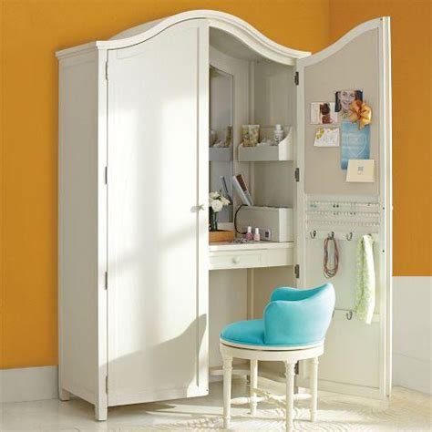 jewelry and makeup armoire vanity armoire pbteen