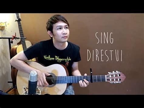 tutorial fingerstyle guitar nathan mahesa dewi cinta sing direstui nathan fingerstyle