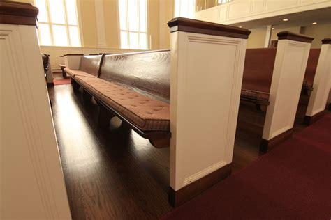 Church Pew Upholstery by Church Pew Cushions Reversible Pew Cushions