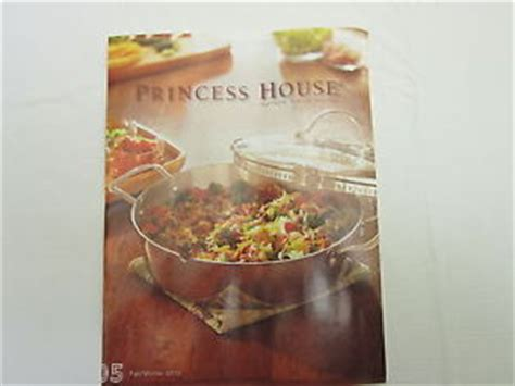 princess house crystal catalog princess house fall winter 2012 crystal catalog book new no markings ebay