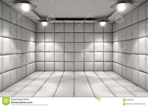 padded white room padded cell stock photo image 64868959