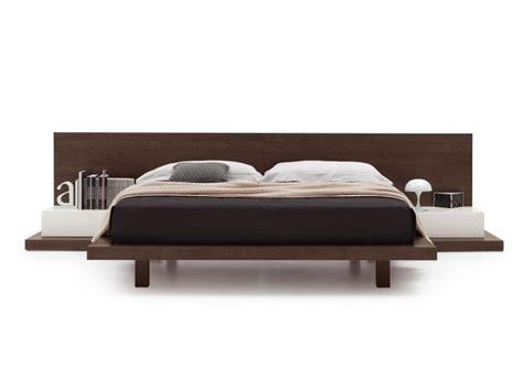 futon line wooden bed line by novamobili