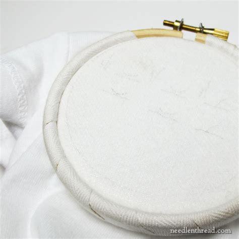 embroidery on knit fabric embroidery on knit fabric needlenthread