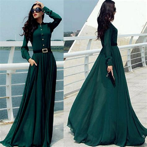 Akio Maxi Dress Muslim By Rn kaftan abaya jilbab islamic muslim bow slim