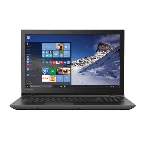 toshiba satellite 15 6 quot laptop i3 8gb 1tb windows 10 pscpau 01601e ebay