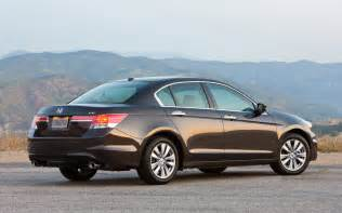 2012 Honda Accord Sedan 2012 Honda Accord Ex L V 6 Sedan Rear Three Quarters Photo 12