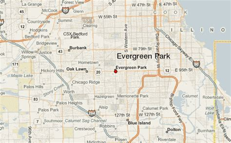 evergreen park evergreen park location guide