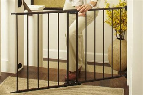 north states easy swing lock gate 5 best baby safety gates reviews of 2017 doublebestreview