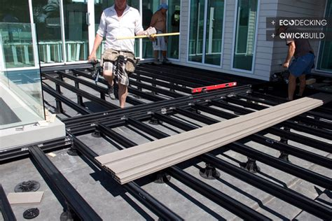 how to build a deck nz 016 11 g eco decking qwick build deck frame materials