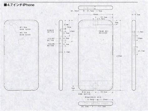 iphone 6 renderings based on leaked schematics highlight larger displays mac rumors