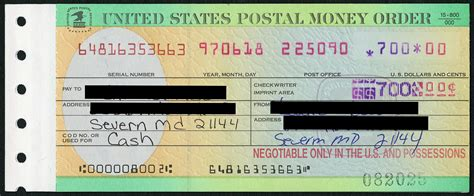 Money Order From Post Office by Post Office Burglary The Badge