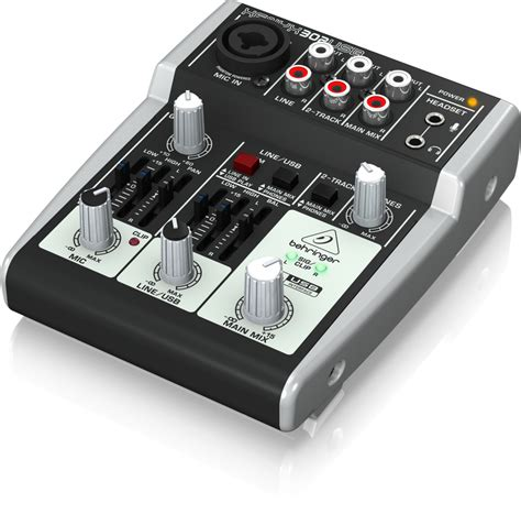 Mixer Audio Beyer 302usb analog mixers mixers behringer categories