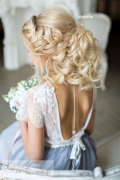 Wedding Hairstyles For Backless Dress by 2017 New Wedding Hairstyles For Brides And Flower