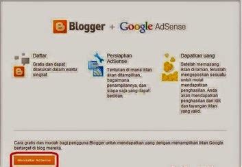 adsense untuk blogspot situs iklan blog alternatif selain adsense kunci sukses blog