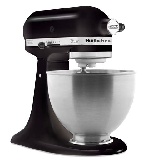 kitchenaid mixer black classic series 4 5 quart tilt head stand mixer k45ssob onyx black kitchenaid