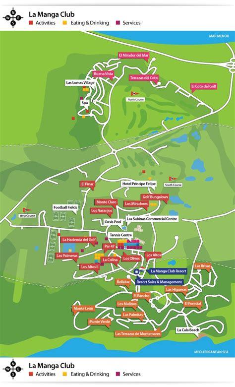 louisiana golf map pin by just resorts ltd on la club resort spain