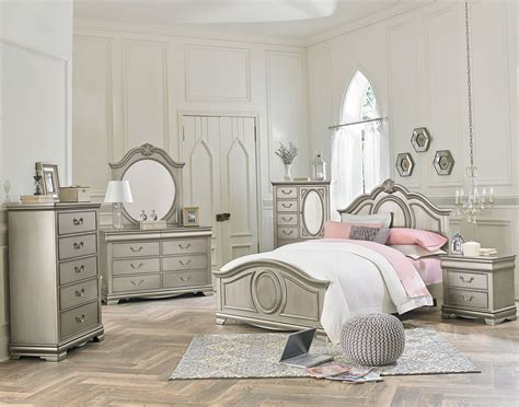 silver bedroom set jessica silver youth bedroom set adams furniture