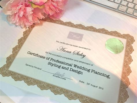 Wedding Planner Qualifications by Wedding Planning Course Usa Best Course