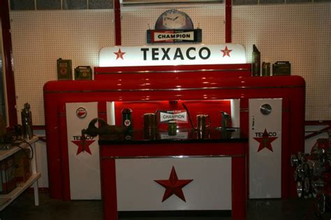gas bench old texaco gas stations inside vintage work bench page