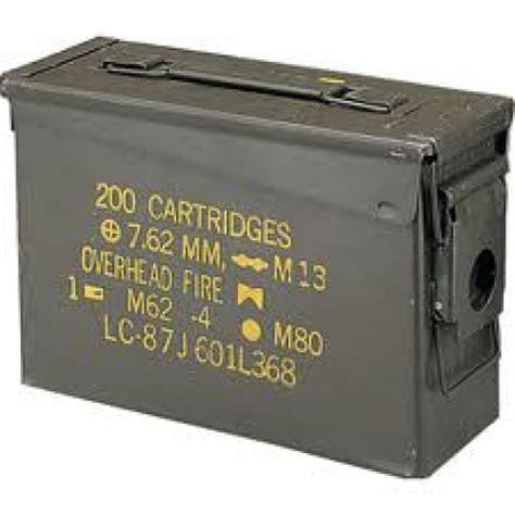 cassetta portamunizioni l oasi militare