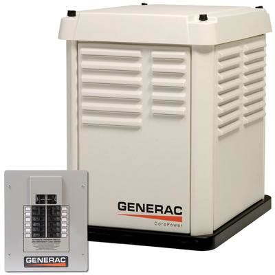 generac corepower 7kw automatic home standby generator