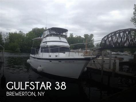 boat deal brokers brewerton ny sold gulfstar 38 boat in brewerton ny 127002