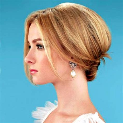 elegant easy hairstyles for short hair 20 short wedding hair ideas short hairstyles 2017 2018