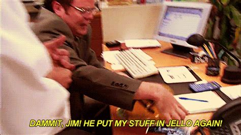 The Office Jello by Work Animated Gif