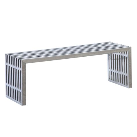 stainless steel benches zeta stainless steel bench long