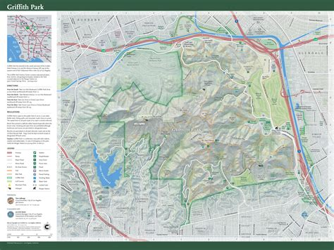 griffith park map things to do in griffith park la s premier park