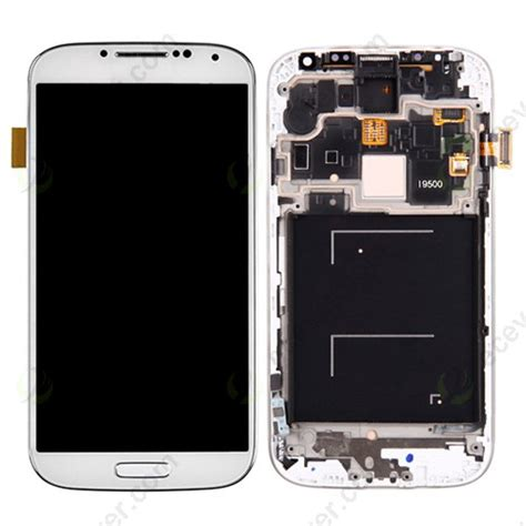 Lcd Samsung S4 I9500 Lcd Touchcrean Samsung Galaxy S4 I9500 for samsung galaxy s4 i9500 lcd screen assembly with digitizer front frame housing replacement white