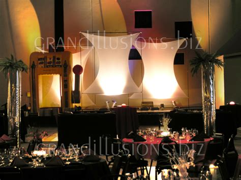 Stage Decoration For Corporate Events by Corporate Events Grand Illusions