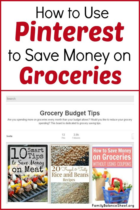 supermarket comparison how to save money on groceries how to use pinterest to save money on groceries family