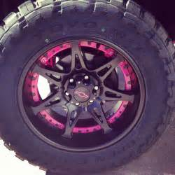 Wheels Pink Truck 25 Best Ideas About Pink Rims On Pink Wheels