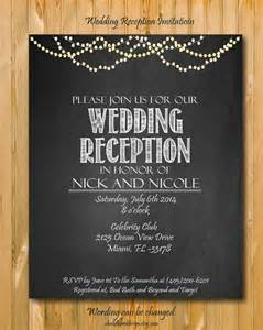 11 best images about wedding reception invitations on receptions elopements and