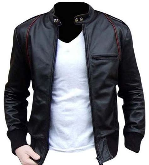 Jaket Pria Branded Dc Blue Navy Parasut leather jacket biker leather jacket jackets footwear biker leather
