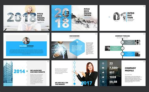 2018 Pitch Deck Powerpoint Template 65606 Pitch Presentation Template