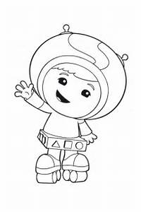 Of Team Umizoomi Coloring Pages