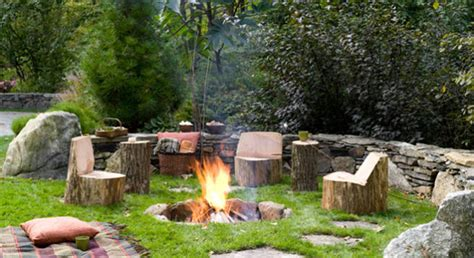 Rustic Firepit 30 Cool Ideas For Rustic Outdoor Decor Rustic Crafts Chic Decor