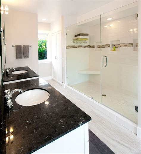 Has In The Bathroom by Pasadena Bungalow Gets Updated With A Modern Master Bath