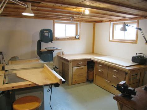 Ultimate Garage Designs my basement workshop 2009