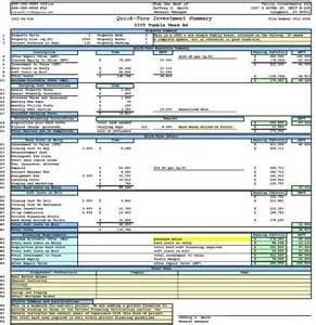 real estate investment template property analysis worksheet form ultimate bargains