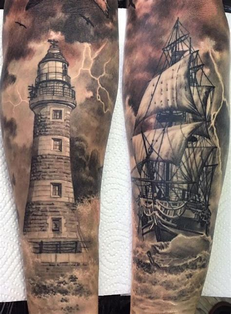 nautical tattoos best 25 nautical sleeve ideas on